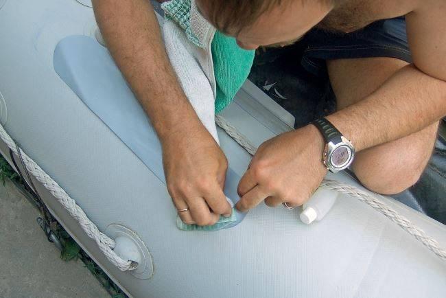 Самостоятельный ремонт надувных лодок из пвх