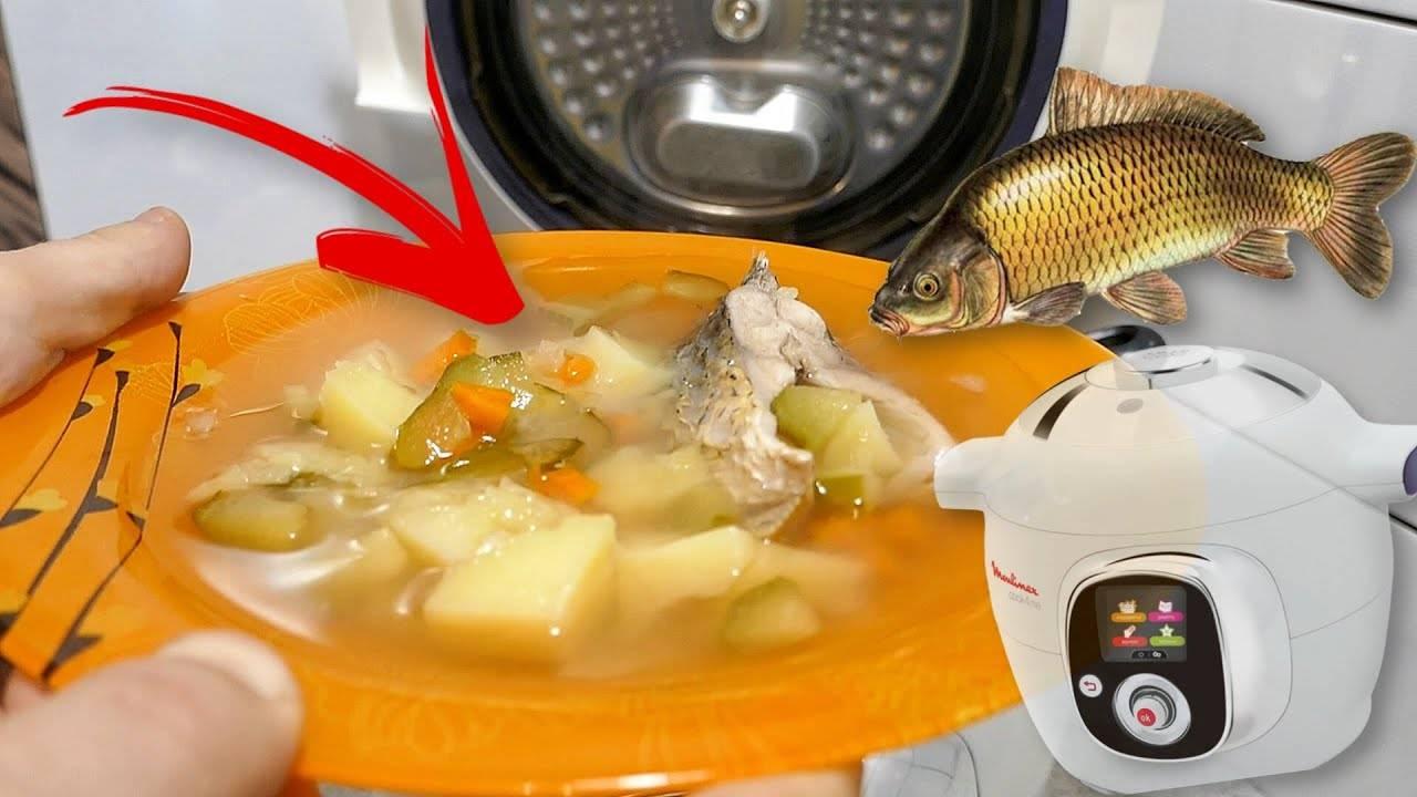 Рыба запеченная в мультиварке