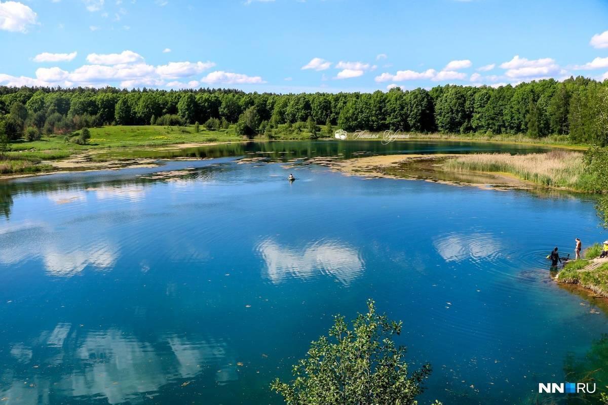 Озера в нижегородской области, отдых на озерах нижегородской области - клубок путешественников