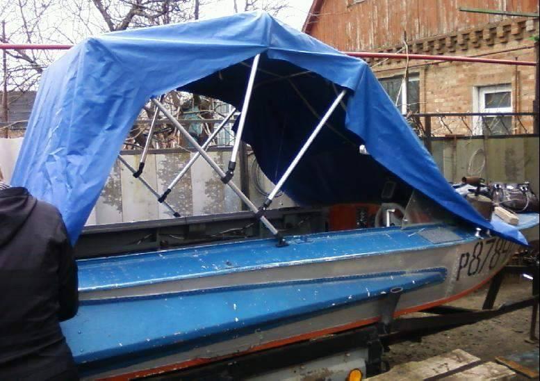 Тент на лодку пвх своими руками - материалы, рекомендации по изготовлению