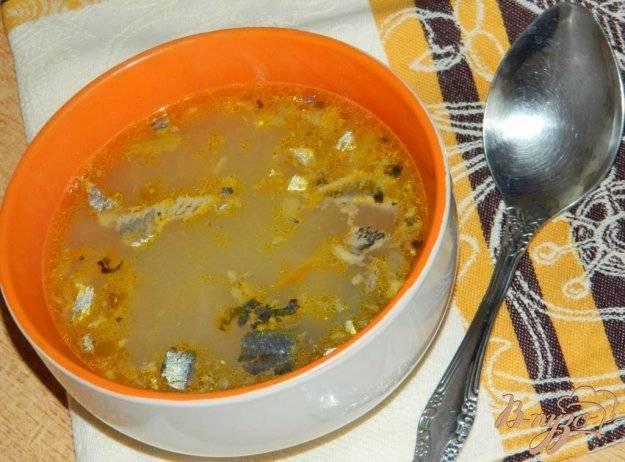Как приготовить суп из рыбных консервов сайра по пошаговому рецепту