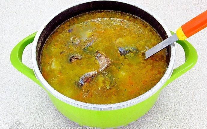 Рыбный суп с пшеном – кулинарный рецепт