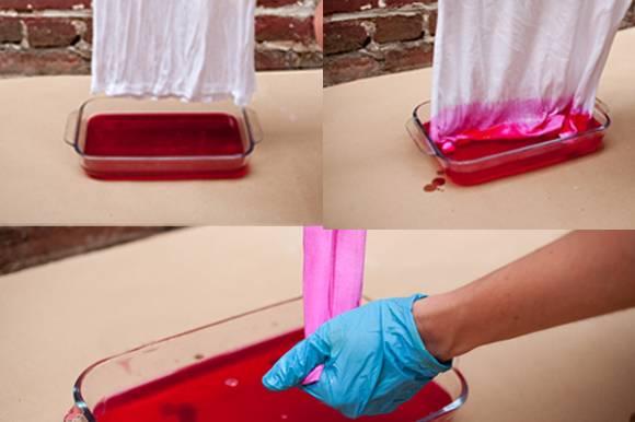 Натуральные красители для окраски ткани в домашних условиях