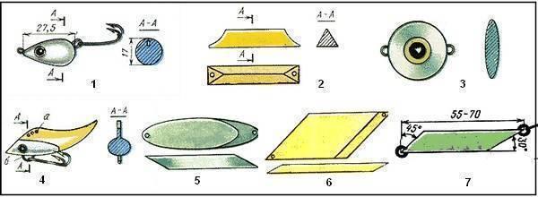 Цикада своими руками: каковы размеры самодельной блесны, чертежи популярной рыболовной приманки и инструкция по изготовлению