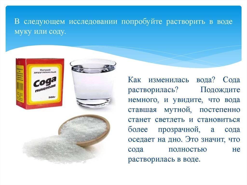 Сода + лимонная кислота – где используется