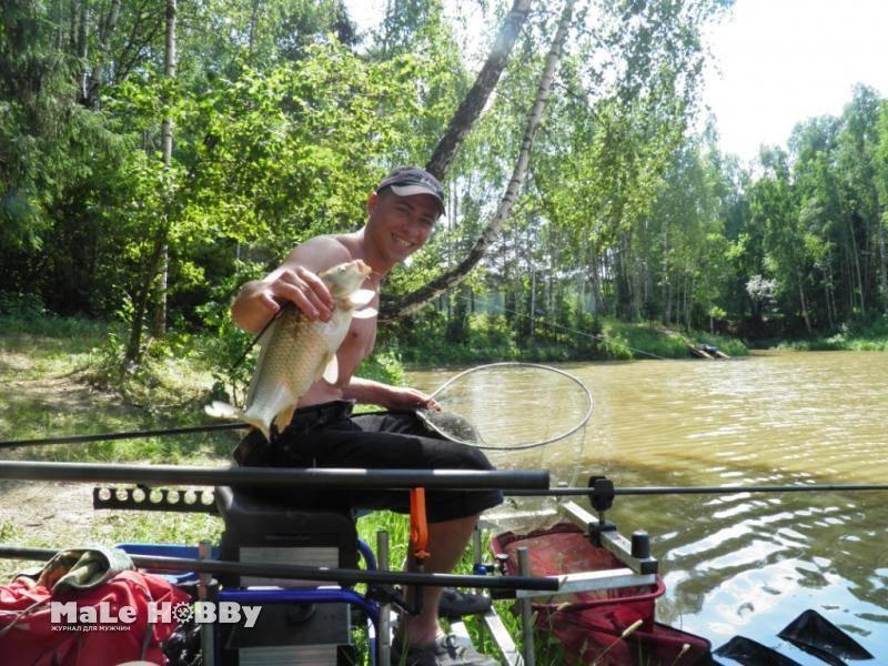 """Рыбное хозяйство """"клёвое место"""" в посёлке лосиный остров"""