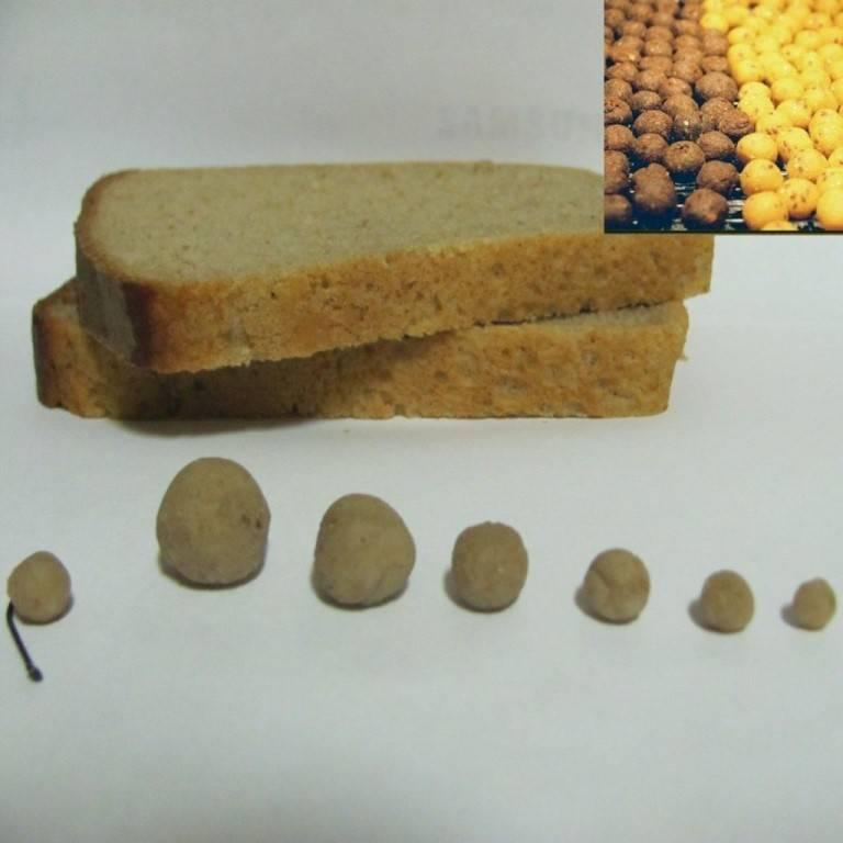 Прикормка из хлеба для фидера