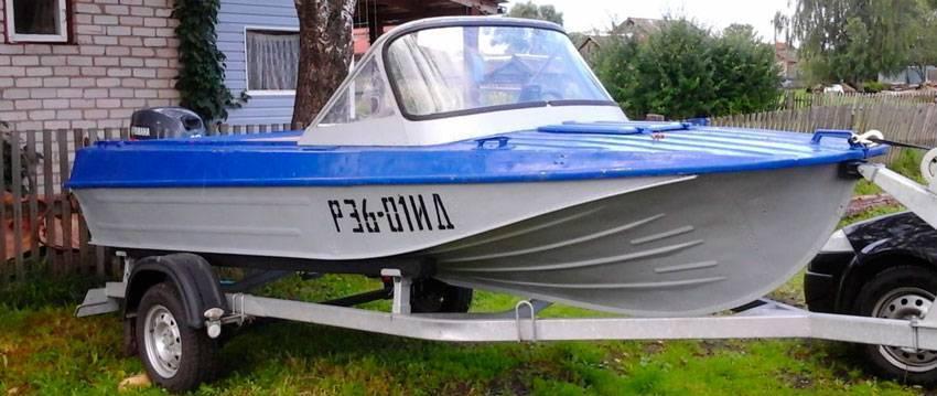 Лодка казанка 5м4 - характеристики моторной лодки, цена и размеры