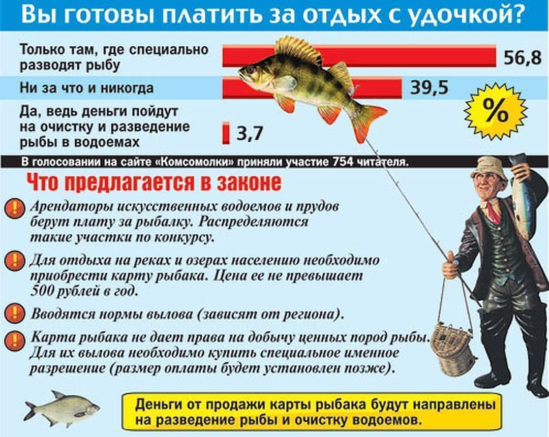 Правила рыболовства в московской области 2019 с изменениями
