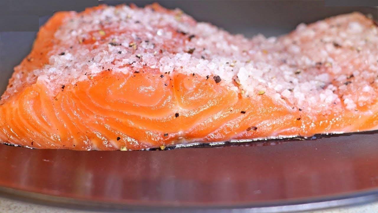 Засолка лосося рецепт классический- рецепт пошаговый с фото