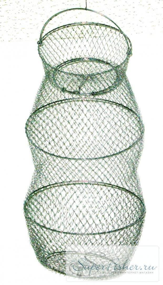 Из чего сделать обруч для рыболовного садка. виды и изготовление садка для рыбы своими руками