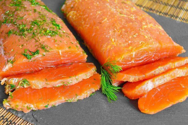 Кижуч соленый в домашних условиях – рецепт с фото