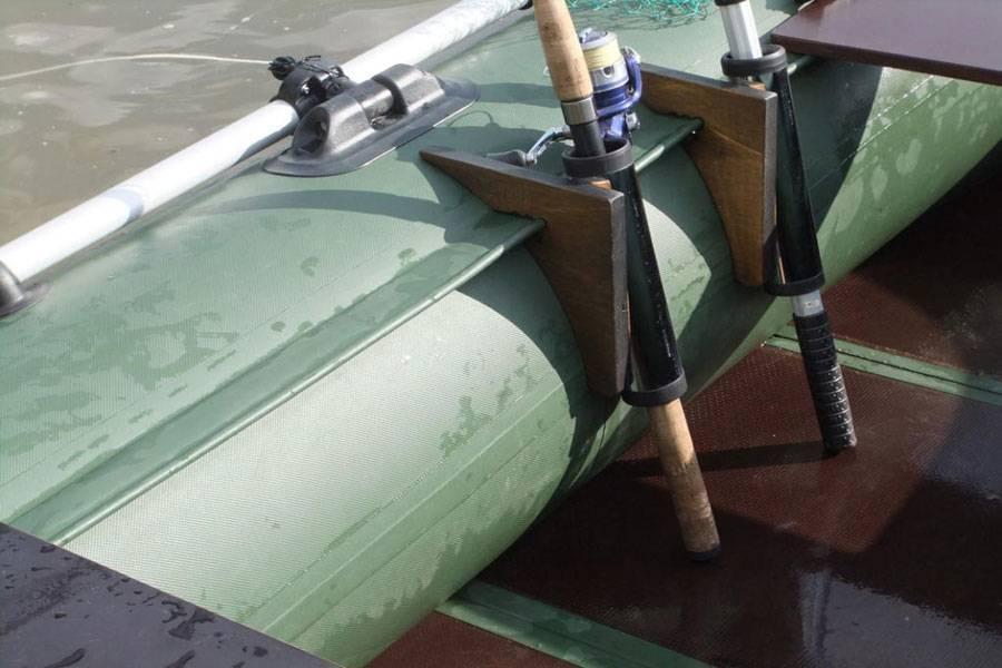 Держатель для спиннинга для пвх лодки: обзор типов конструкций