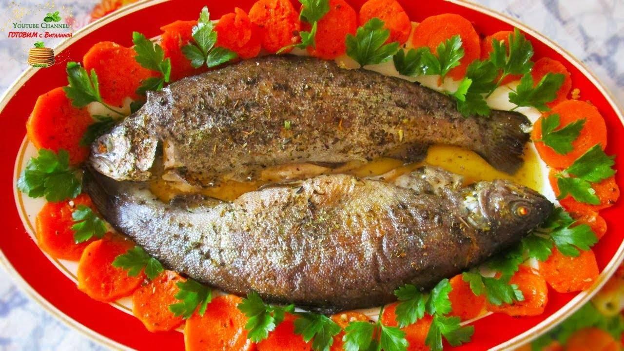 Форель жареная на сковороде: 9 блюд на скорую руку