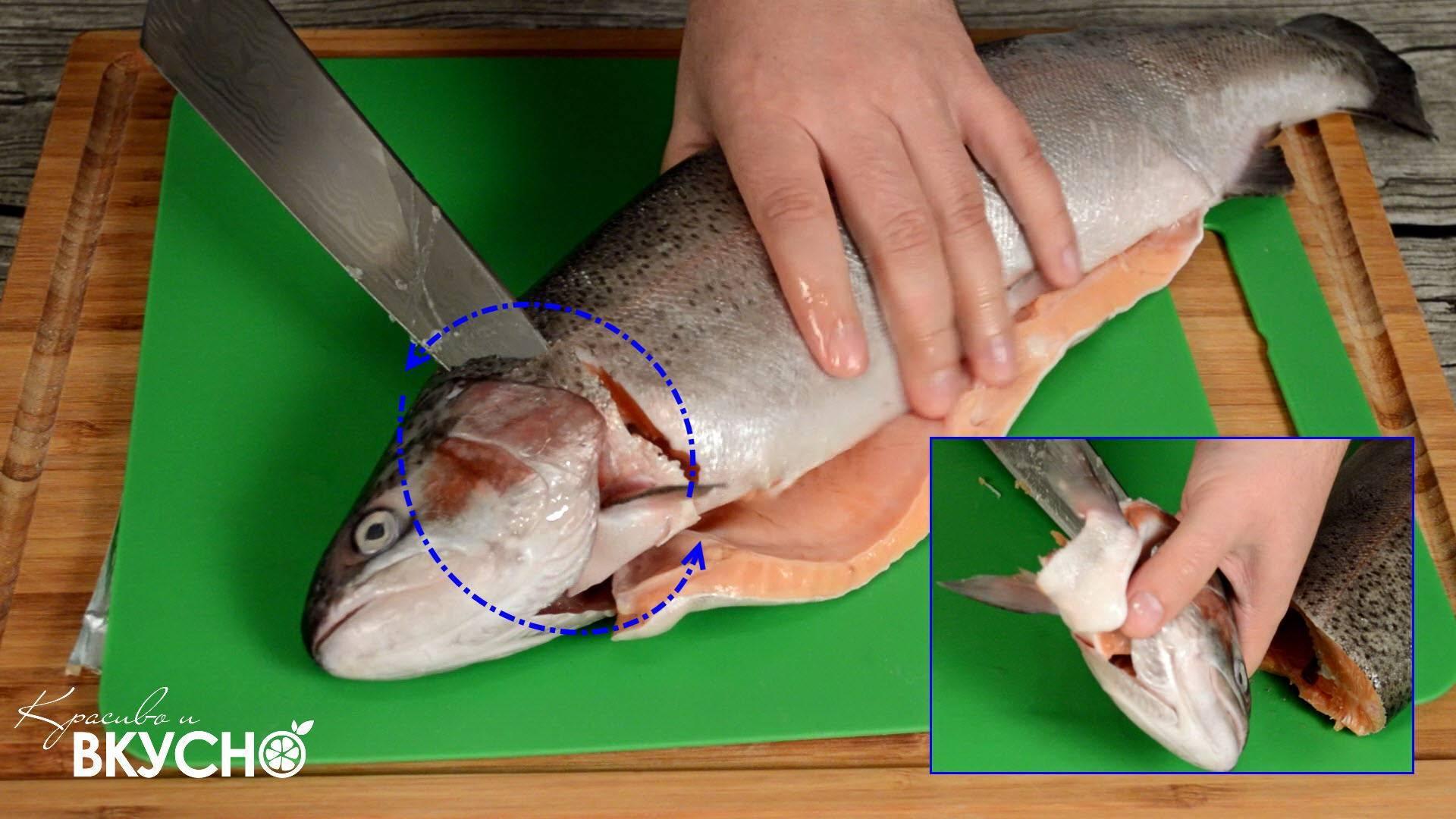 Как чистить рыбу? как удалить жабры? как потрошить?