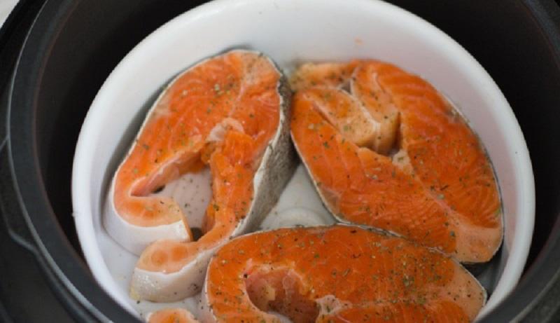 Рыба в мультиварке - 9 пошаговых рецептов с фото