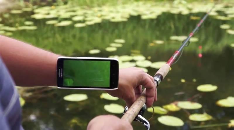 Умный поплавок с камерой для рыбалки
