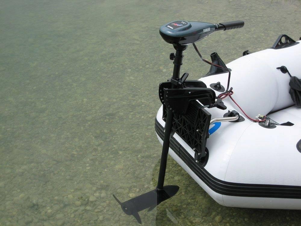 Как выбрать мощный лодочный электромотор для надувной лодки пвх