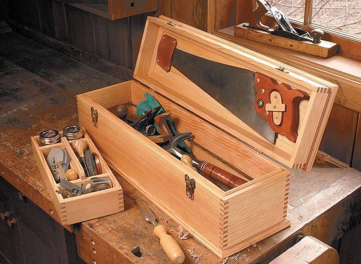 Как сделать ящик для инструмента: схемы, чертежи, инструкция с фото