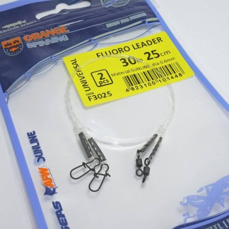 Поводки из флюрокарбона на щуку: как вязать, какой флюрокарбон выбрать, изготовление поводков своими руками
