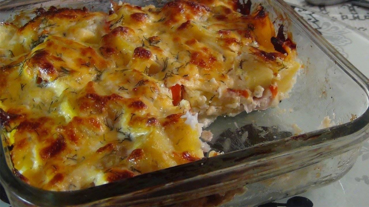 Рыба с картошкой в духовке – простые и вкусные рецепты