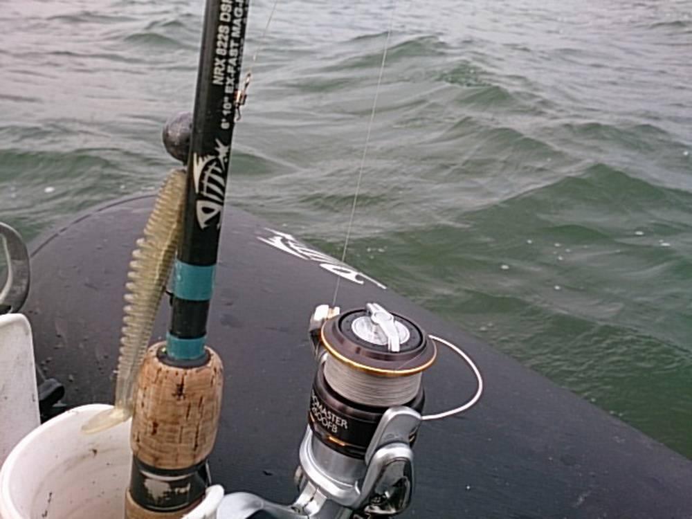 Оснастка для ловли судака с лодки