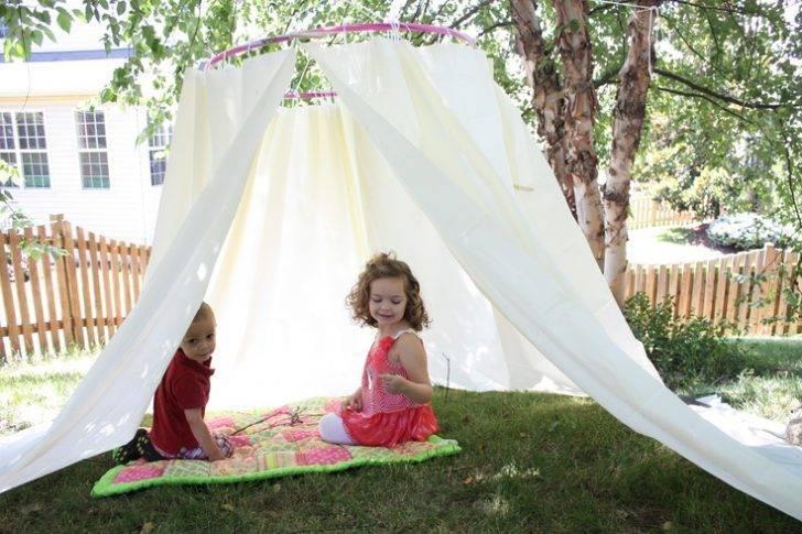 Как сложить детскую игровую палатку?