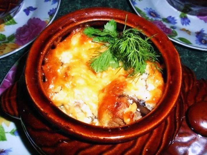 Рыба с картошкой в духовке по рецепту с фото