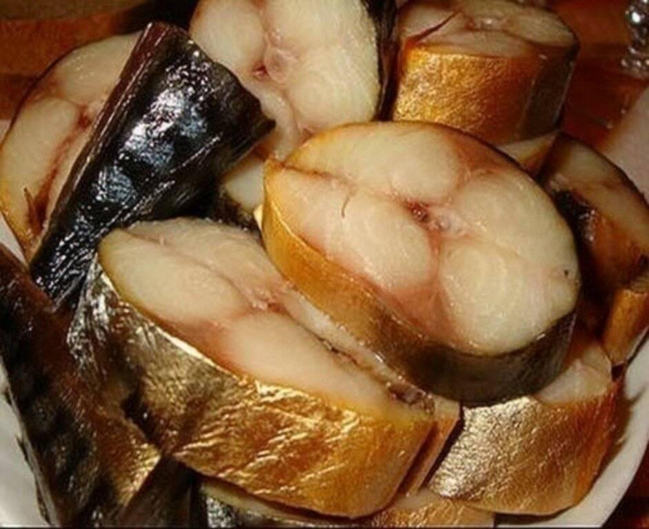 Рыба горячего копчения в походных условиях – кулинарный рецепт