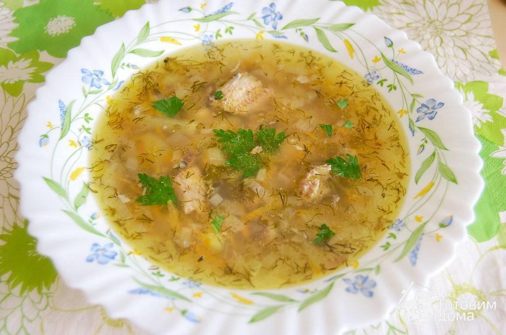 Суп из сайры с рисом - ингредиенты обычные, блюдо отличное