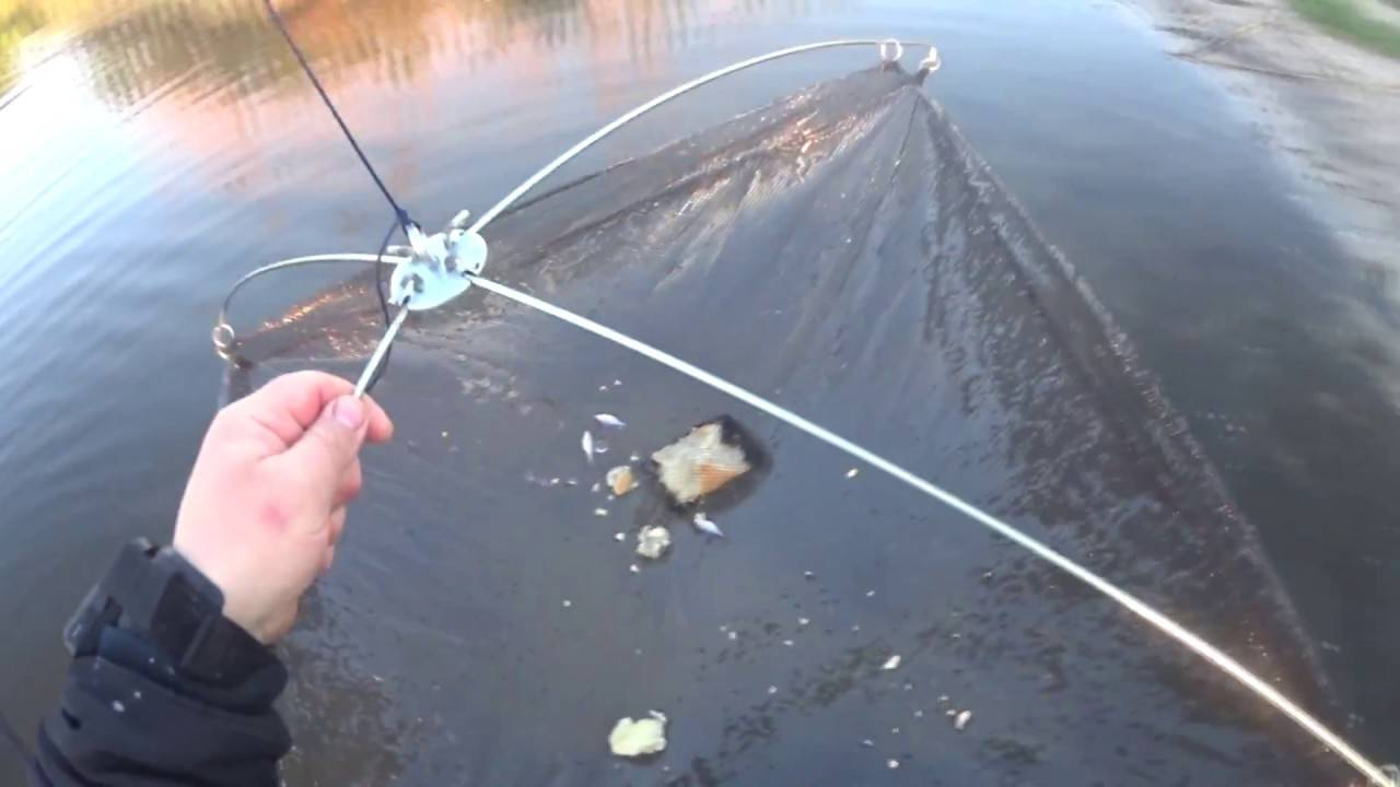 Паук для рыбалки своими руками