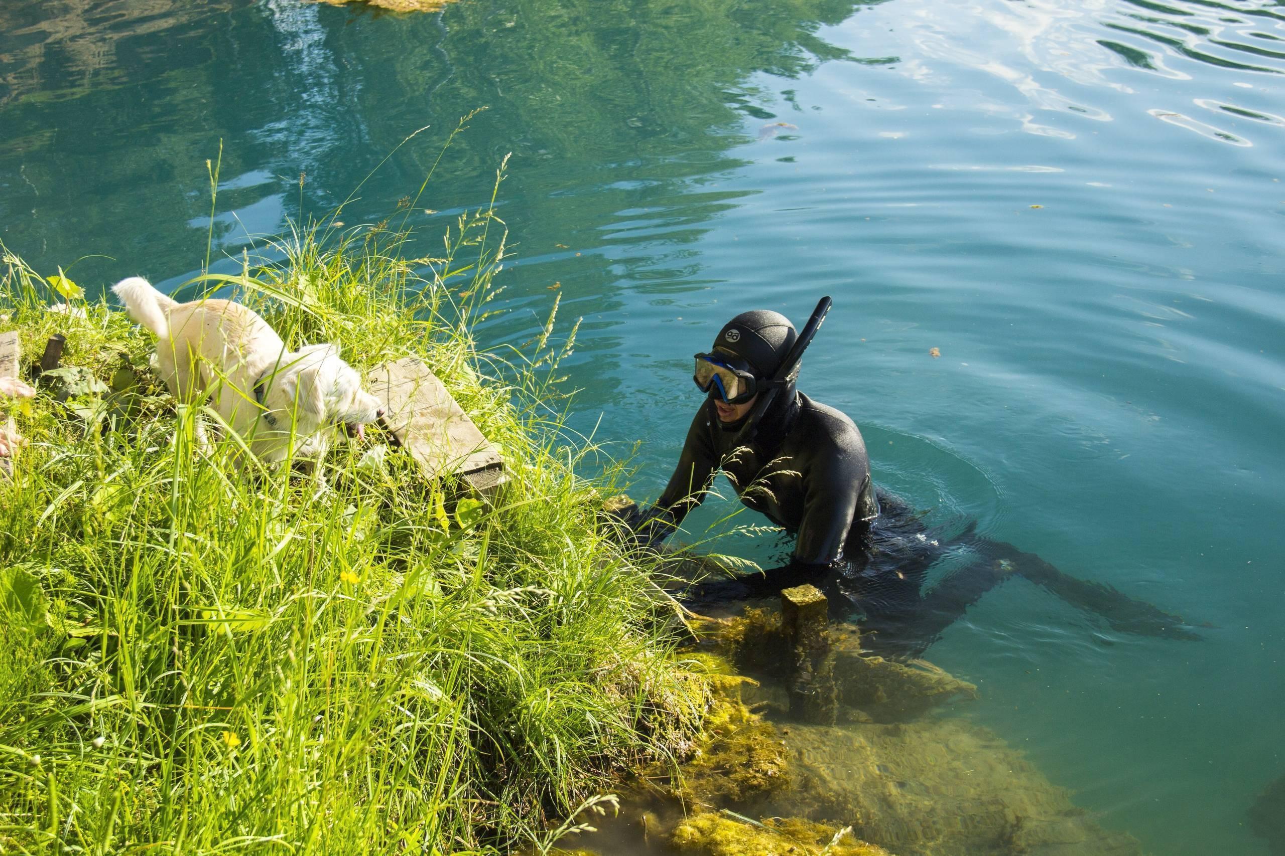 Затопленные анатольско-шиловские карьеры: описание, как добраться, фото