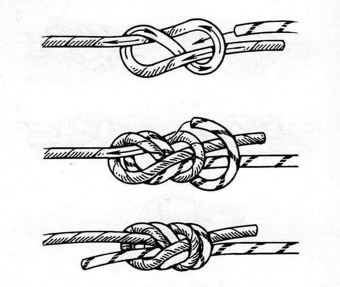 Как вязать рыболовный узел «восьмерка»