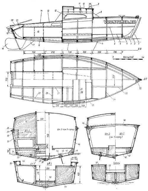 Яхта своими руками. отпроекта доспуска (16фото)