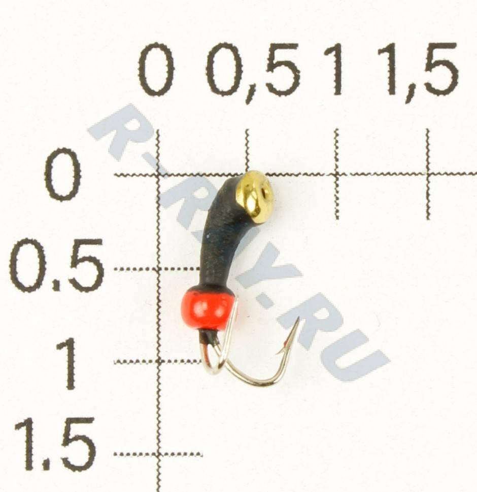 Купить мормышку вольфрамовая lucky john муравей с отв. (коза) 030/c k1430-c в интернет магазине biggame.ru в москве