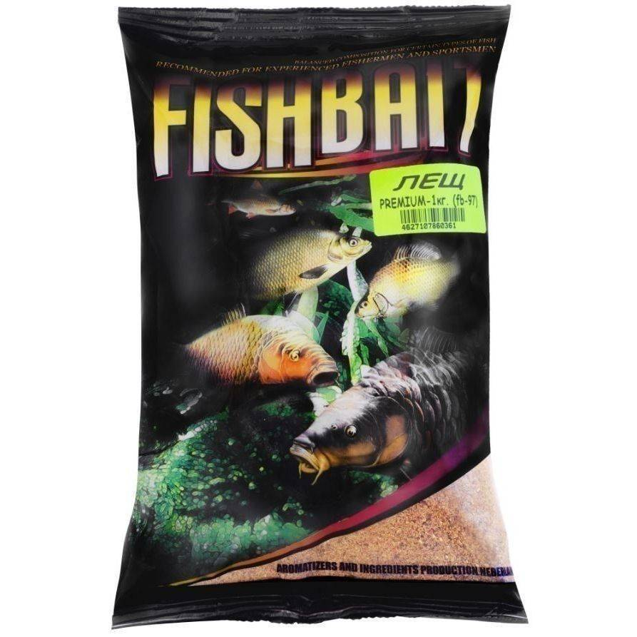 Прикормки fishbait – описание