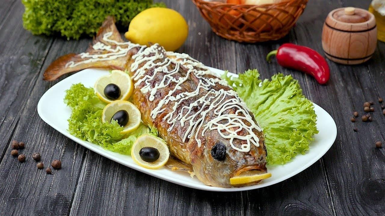 Фаршированная рыба (42 рецепта с фото) - рецепты с фотографиями на поварёнок.ру