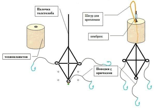 Техника ловли толстолобика на технопланктон, правильная донная и поплавочная оснастки - как ловить (видео)