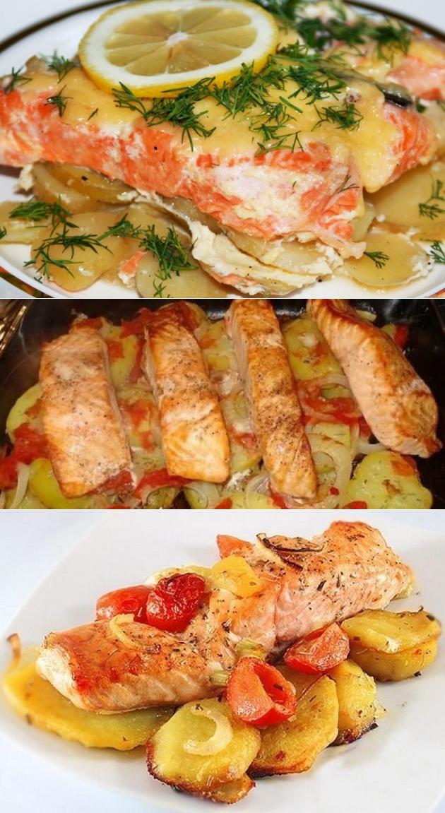 Рыба с картошкой: 5 фото рецептов