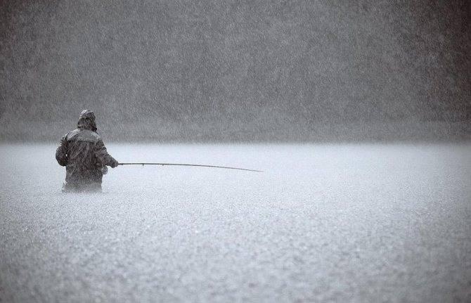 При каком ветре лучше клюет рыба осенью
