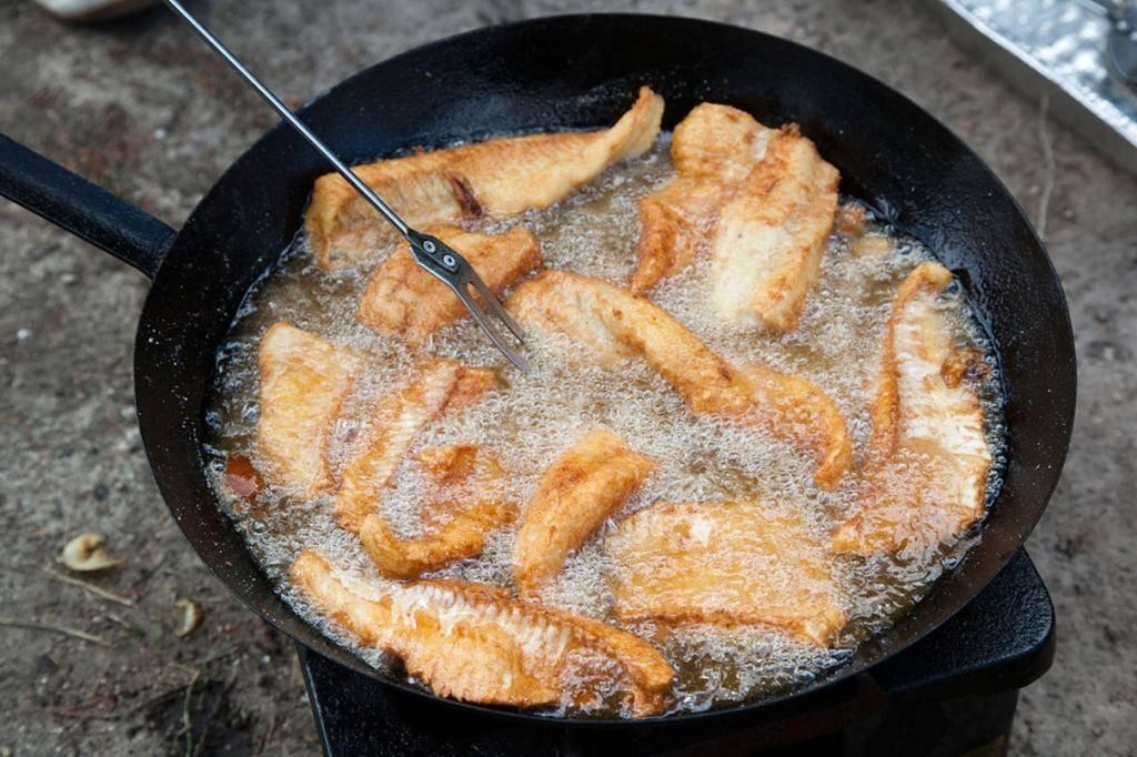 Как вкусно пожарить рыбу на сковороде: рецепты, сколько жарится по времени