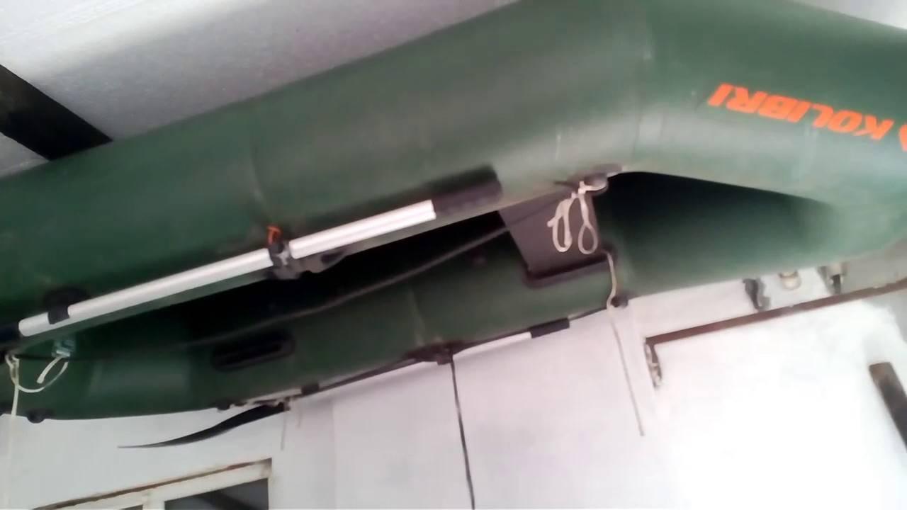 Хранение пвх лодки зимой в гараже