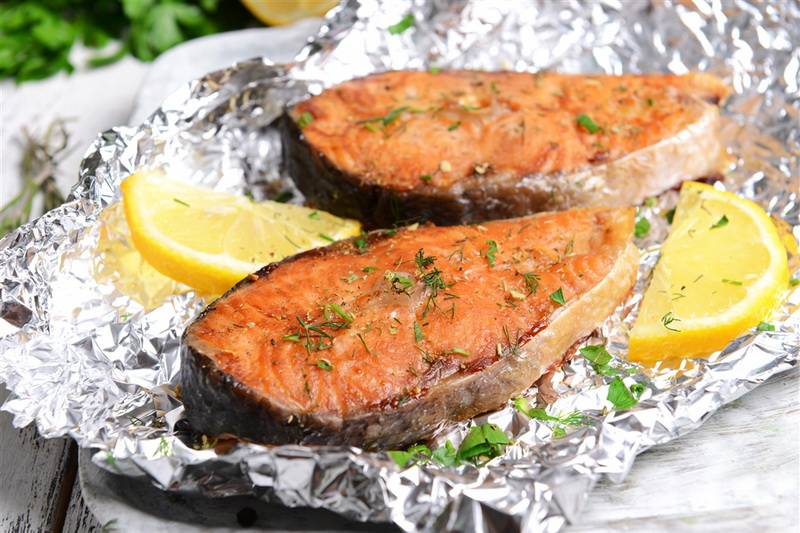Блюда из рыбы и морепродуктов - рецепты