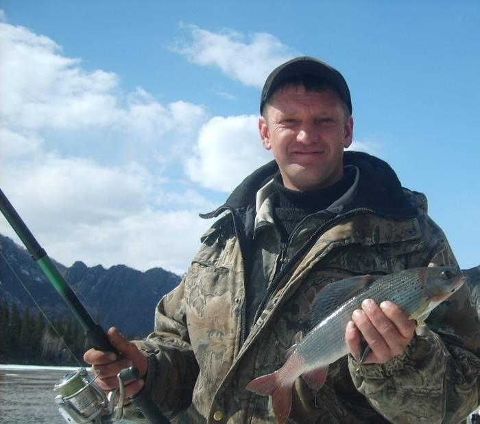 Рыбалка на реке тура