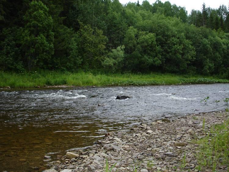 Река колва – хранительница древних легенд