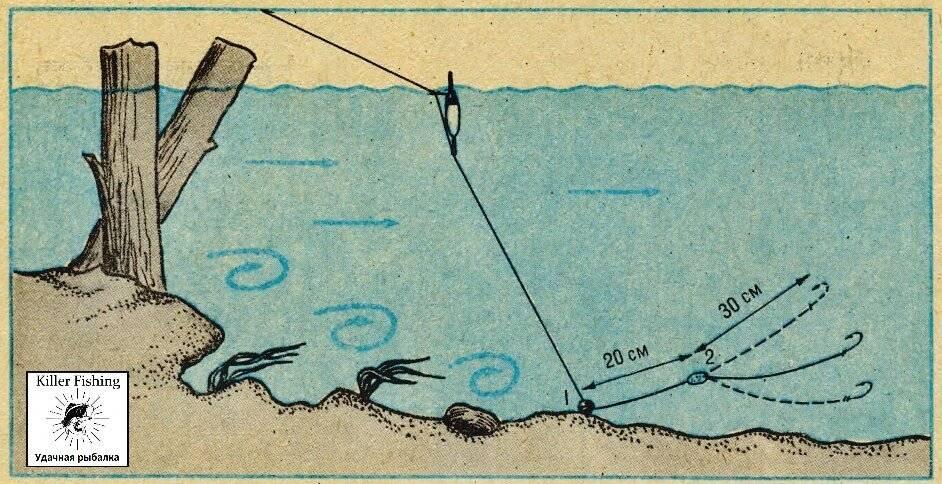 Как ловить на поплавочную удочку с катушкой