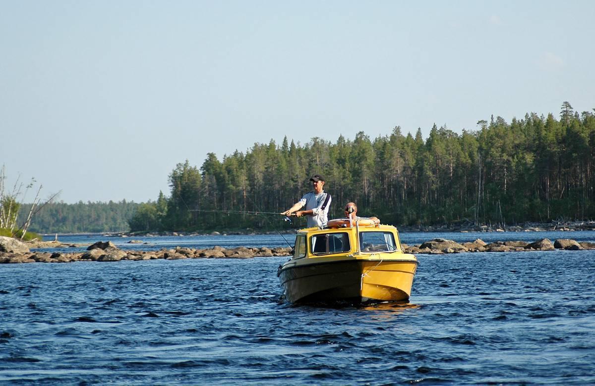 Озеро верхнее куйто - рыбалка