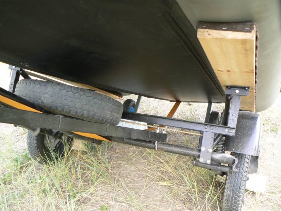 Переделка прицепа под лодку пвх своими руками — lodkavmore