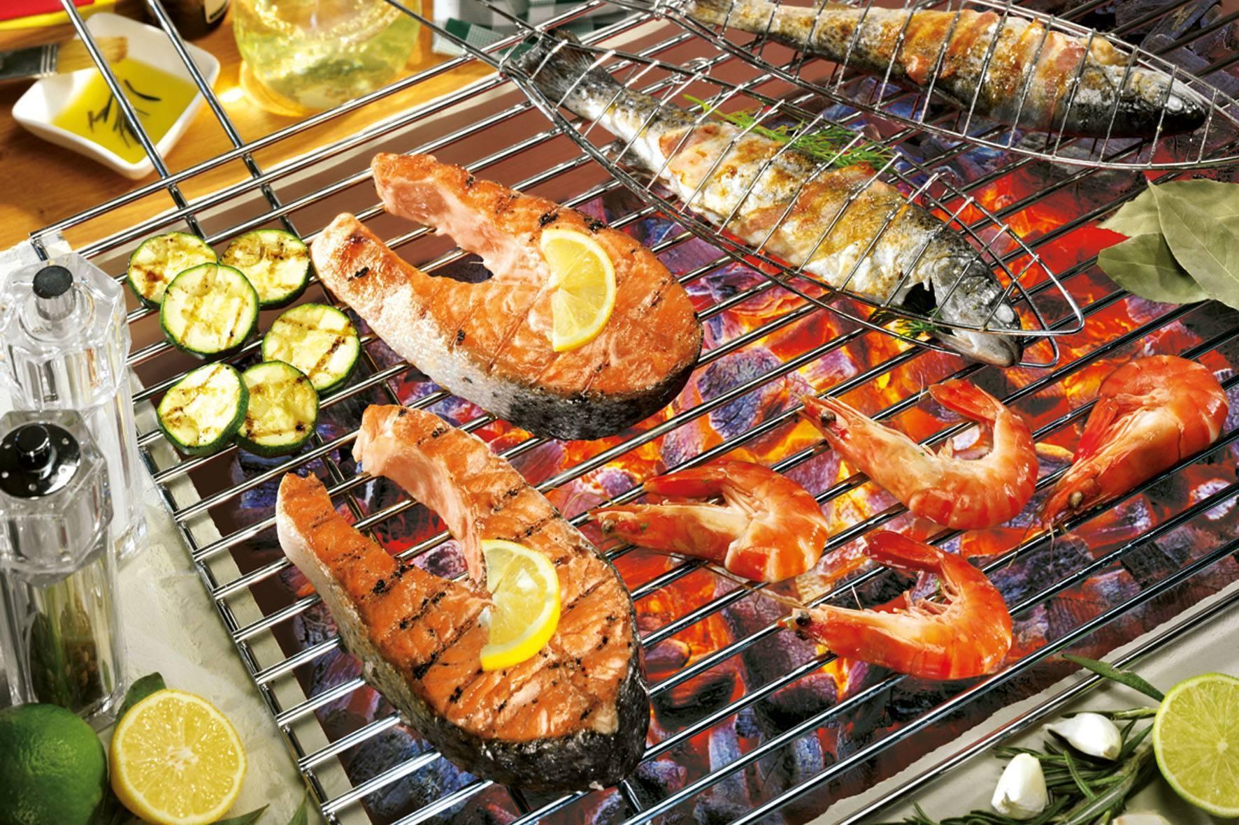 Рыба на гриле: рецепт приготовления. маринад для рыбы на гриле