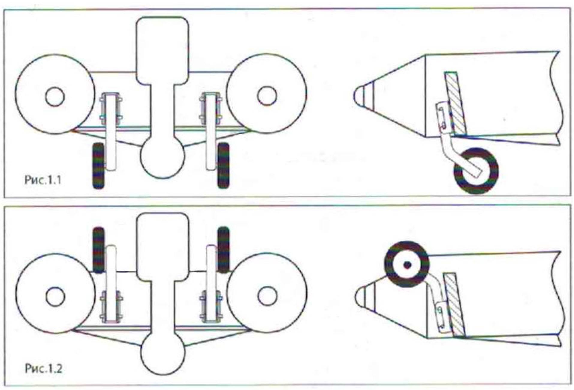 Изготовление транцевых колес для пвх-лодки своими руками